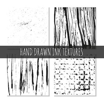 Textures dessinées à la main à l'encre peut être utilisé pour le fond d'écran