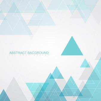 Textures de fond abstrait par des triangles turquoises