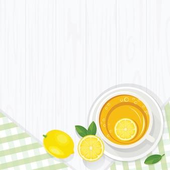 Thé au citron du matin