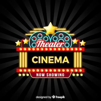 Théâtre cinéma fond