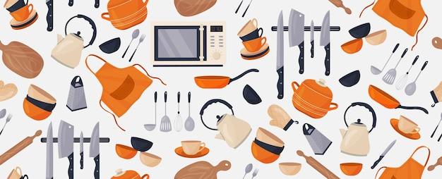 Une théière une tasse et un bouquet de lavande le concept d'un petit déjeuner français