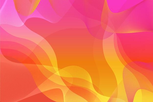 Thème abstrait coloré