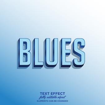 Thème autocollant blues pour le titre ou le produit