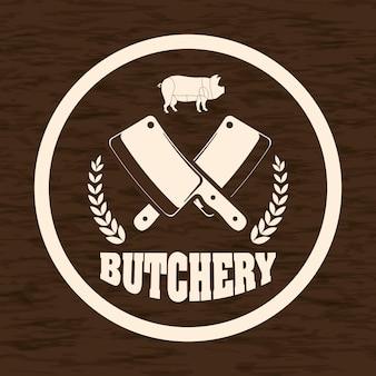 Thème barbecue et boucherie