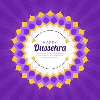 Thème de la célébration de l'événement dussehra