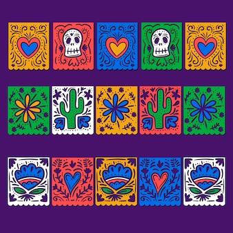Thème de la collection de banderoles mexicaines