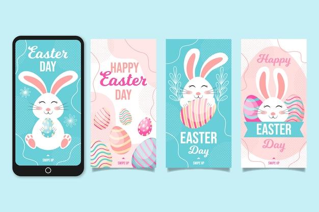 Thème de la collection d'histoires de jour de pâques
