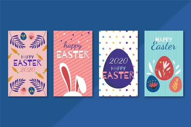 Thème de la collection de messages instagram du jour de pâques