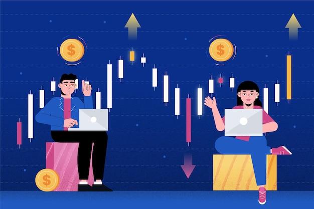 Thème des données boursières