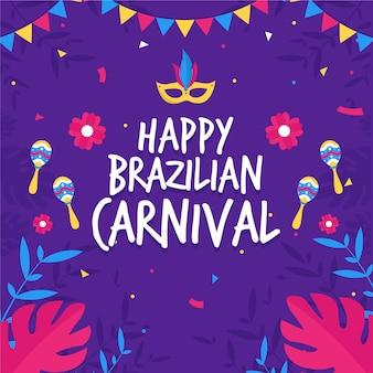 Thème du carnaval brésilien