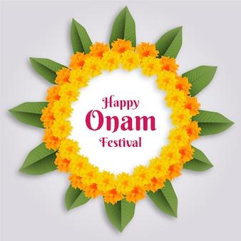 Thème du festival onam réaliste
