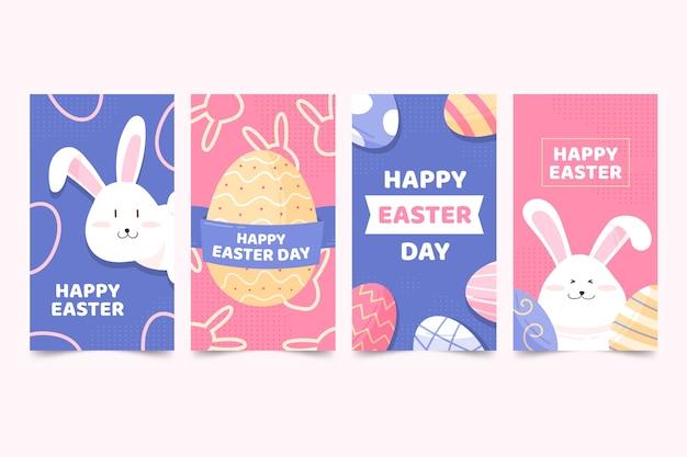 Thème du jour de pâques pour les histoires instagram