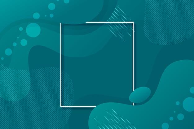 Thème du papier peint bleu classique abstrait