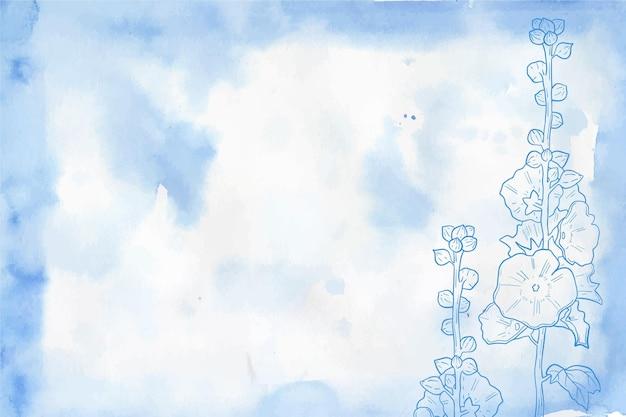 Thème du papier peint pastel en poudre