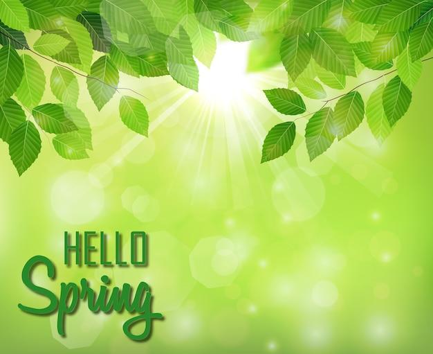 Thème du printemps