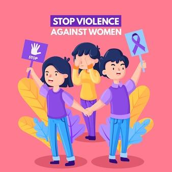 Thème de l'élimination de la violence à l'égard des femmes