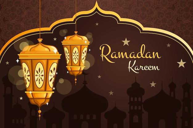 Thème de l'événement du ramadan