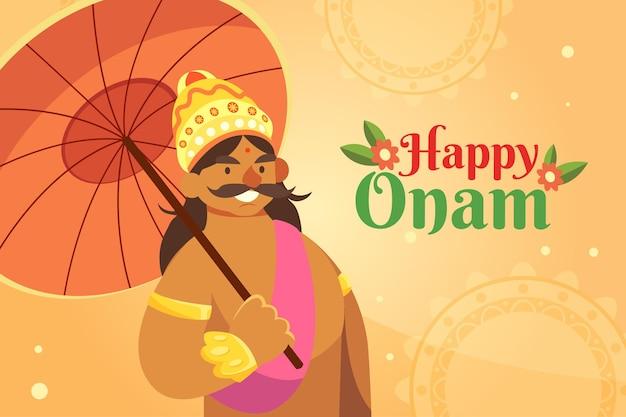 Thème de l'événement onam festival