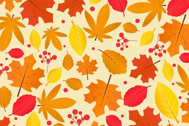Thème de fond d'automne