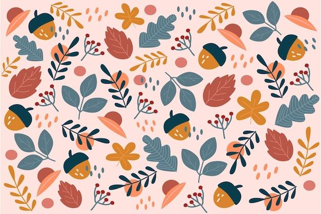 Thème de fond d'écran d'automne