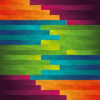 Thème de fond d'écran coloré