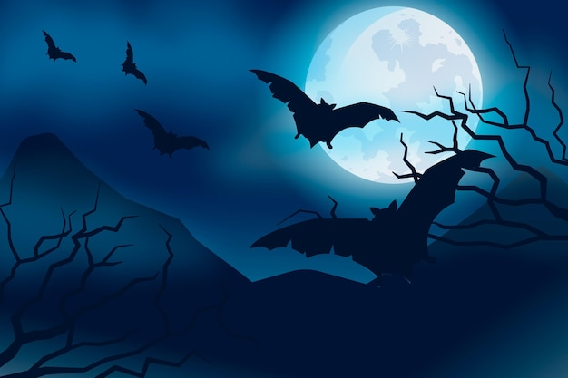 Thème de fond d'écran halloween