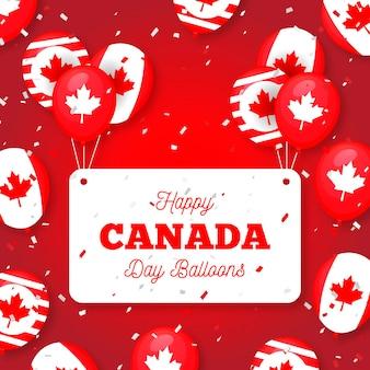 Thème de fond de la fête du canada