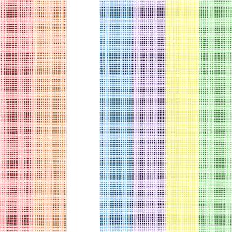 Thème de fond de ligne colorée - illustration vectorielle