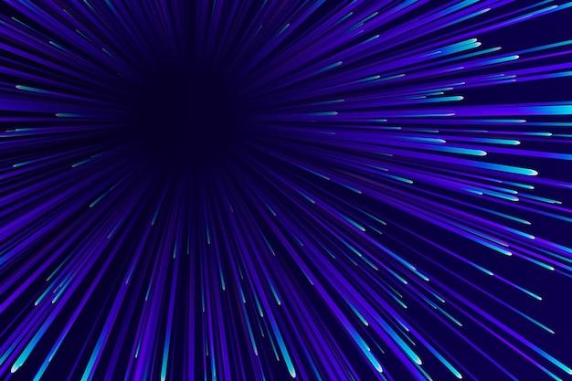 Thème de fond de lumières de vitesse