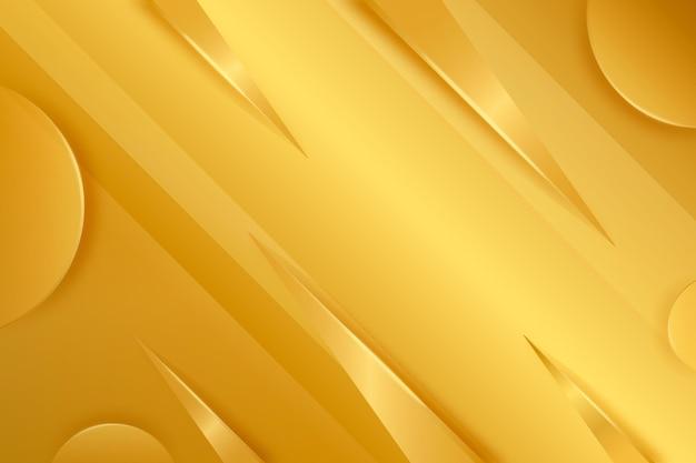 Thème de fond de luxe or