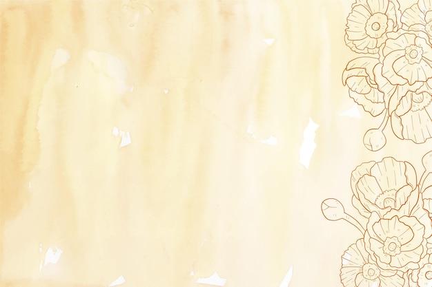 Thème de fond pastel en poudre