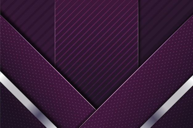 Thème des formes géométriques élégantes réalistes pour le papier peint