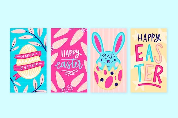 Thème des histoires instagram du jour de pâques