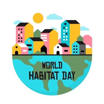 Thème de la journée mondiale de l'habitat