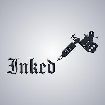Thème de machine à tatouer