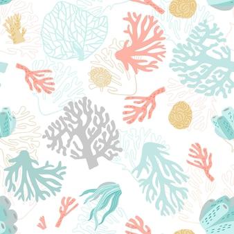 Thème de motif corail