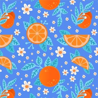 Thème motif fruits