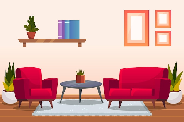 Thème de papier peint intérieur à la maison
