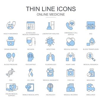 Thin line santé et médecine