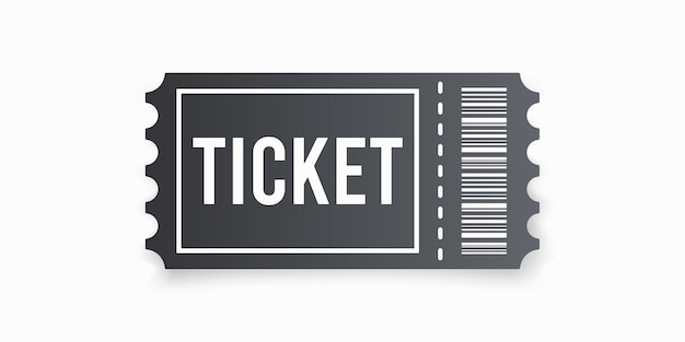 Ticket style plat simple