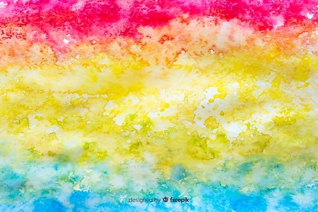 Tie dye style fond arc en ciel