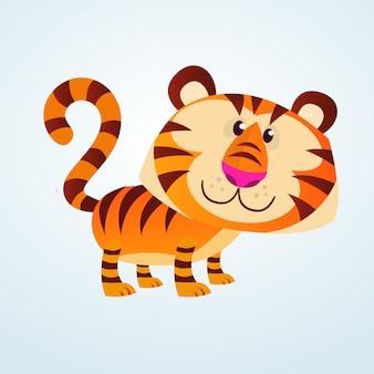 Tigre de bande dessinée
