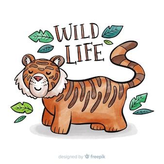 Tigre de la faune