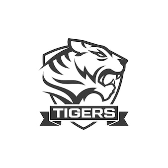 Tigre logo vecteurs