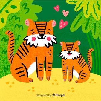 Tigre mignon