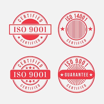 Timbres de certification iso