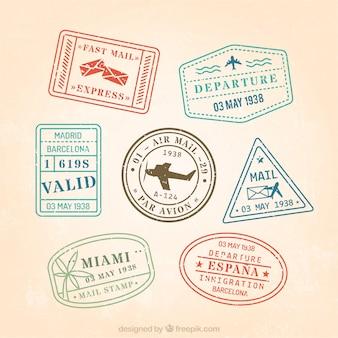 Les timbres-poste