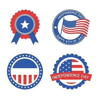 Timbres de sceau de la fête de l'indépendance