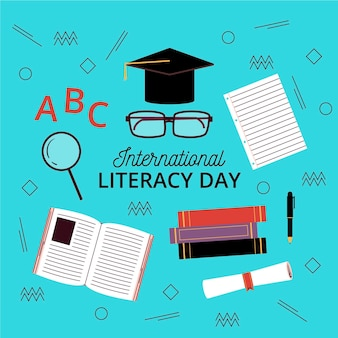 Tirage de la journée internationale de l'alphabétisation