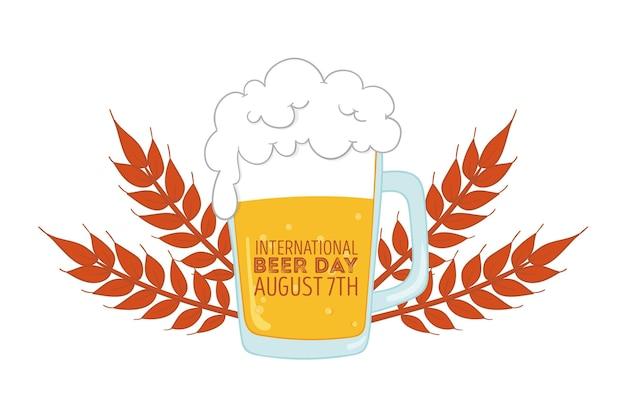 Tirage de la journée internationale de la bière